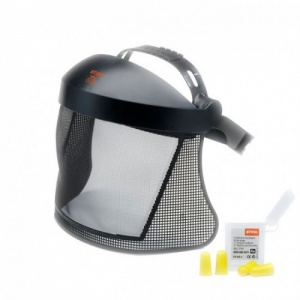 STIHL Face/Ear Protection with Mesh Visor (Short)
