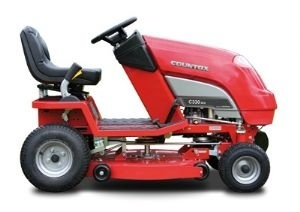 COUNTAX C350H   Mini 30 inch Tractor Combi Deck