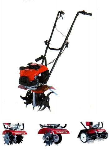 HONDA FG201 Tiller Complete With Lawncare Kit