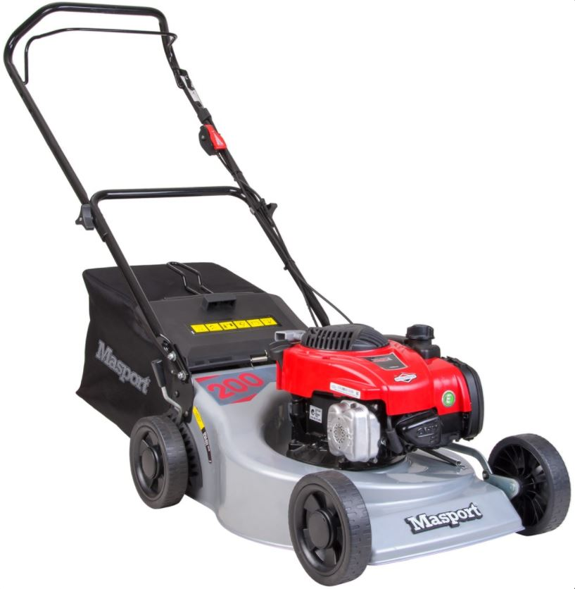 Masport 200 ST Petrol Lawn Mower - Garden Machinery Direct ...