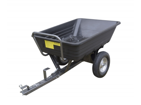 HANDY THTPDC Poly Body Towed Dump Cart