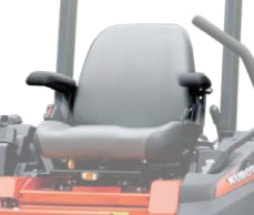 KUBOTA Z122R Arm Rest Kit