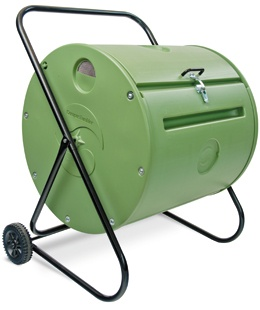 MANTIS 140 Litre Back Porch Compost Tumbler