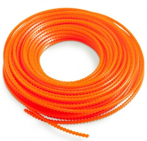 DR Orange Sawtooth Strimmer Line 5.5 mm x 82ft