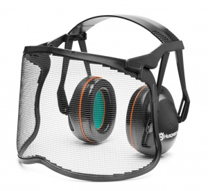 HUSQVARNA Gardener Hearing Protection with Mesh Visor