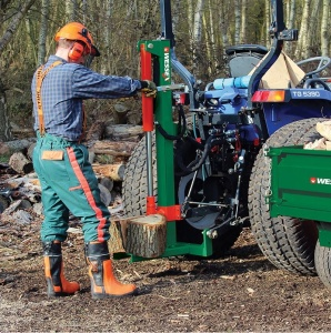 WESSEX LS100 Tractor Mounted Log Splitter