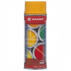 KRAMP Yellow Paint Aerosol Can (STIGA Yellow)