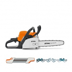 STIHL MS 180 Petrol Chainsaw (with FREE accessories)