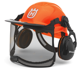 HUSQVARNA Functional Forest Helmet- fluorescent orange