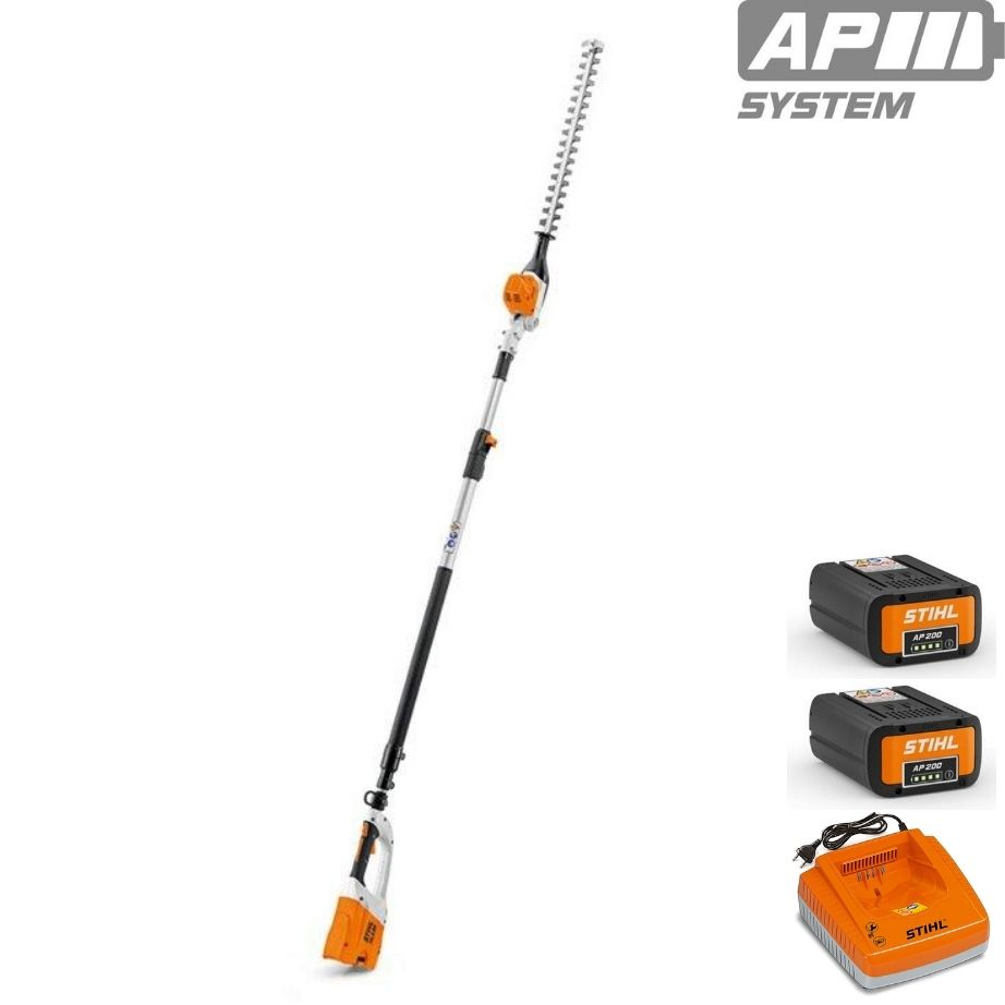 STIHL HLA 85 Cordless Long-reach Hedge Trimmer Promo Kit