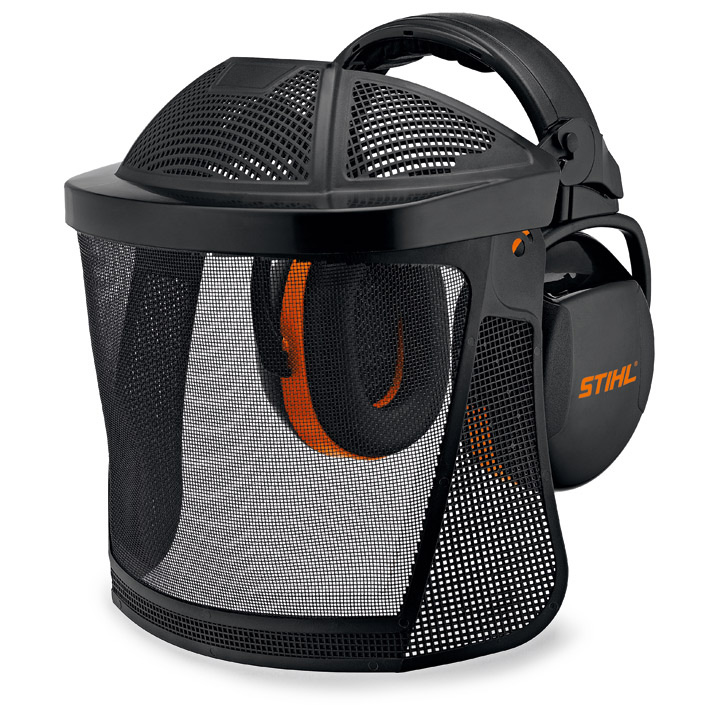 STIHL Face/Ear Protection With Nylon Mesh Visor (Enlarged)