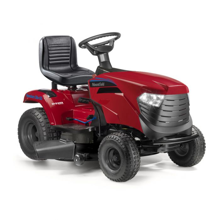 MOUNTFIELD FREEDOM 38e Battery Ride-On Lawn Mower (Side Discharge)